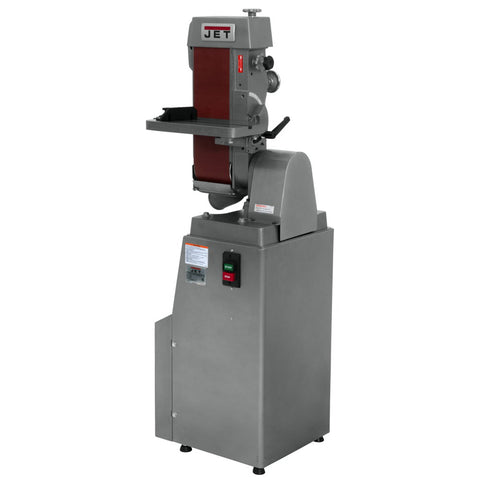 Jet 414600 J-4300A,6 x 48 Industrial Belt Finishing Machine 1PH