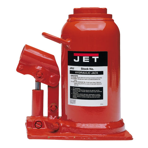 Jet 453323K JHJ-22-1/2L, 22-1/2-Ton Low Profile Hydraulic Bottle Jack