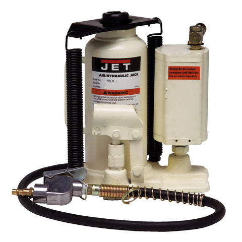 Jet 456620 AHJ-20, 20-Ton Air / Hydraulic Bottle Jack