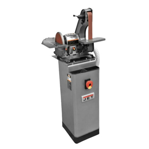 "Jet 577014K J-41002 2""x42"" Benchtop Belt & Disc Sander, JDCS-505 Metalworking Dust Collection Stand"