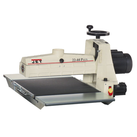 Jet 649003K 22-44 PLUS Bench Top Drum Sander, 20 Amp Service 1-3/4HP, 115V