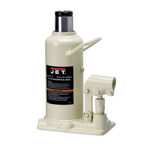 Jet 655554 JBJ-12 12 Ton Hydraulic Bottle Jack