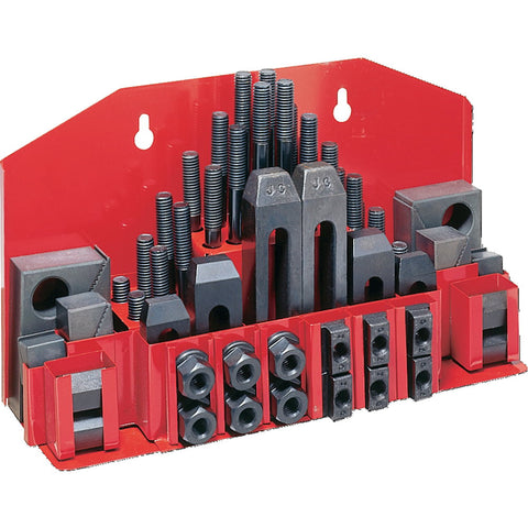 "Jet 660038 CK-38, 52-Piece Clamping Kit with Tray for 1/2"" T-Slot"
