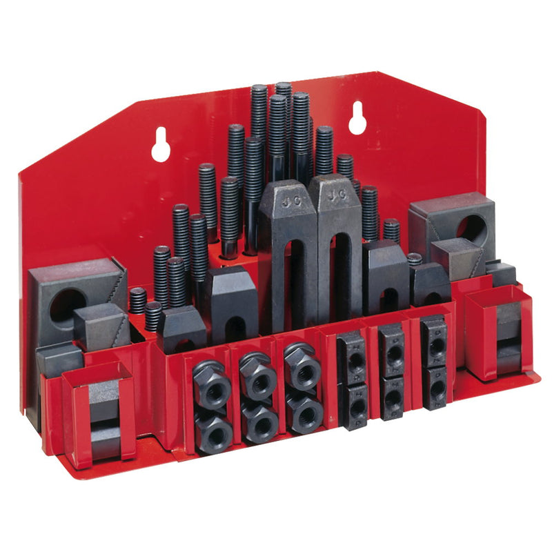 "Jet 660058 CK-58, 52-Piece Clamping Kit with Tray for 3/4"" T-Slot"