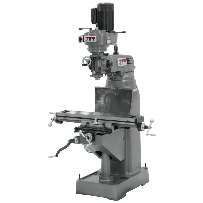 Jet 690038 JVM-836-3 Step Pulley Milling Machine 230V 3PH