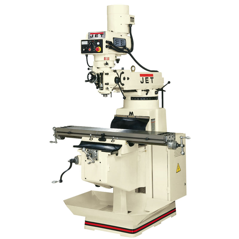 Jet 690062 JTM-1050EVS/460 Electronic Variable Vertical Milling Machine 460V 3PH