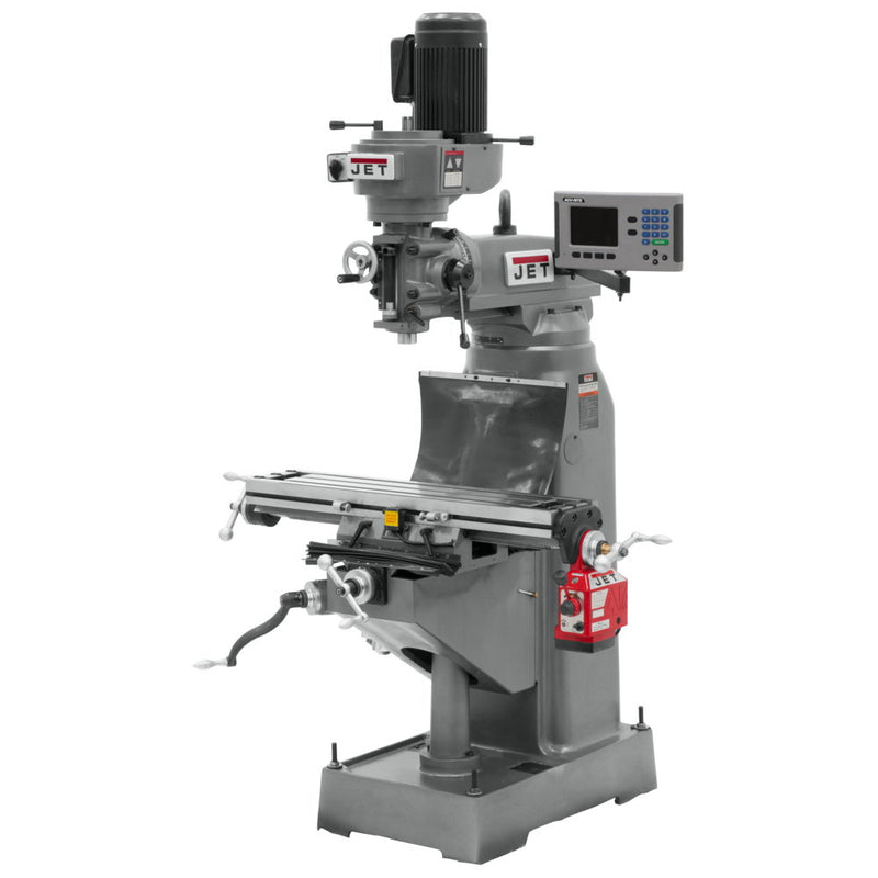 Jet 690144 JVM-836-1 Mill With ACU-RITE 200S DRO With  X-Axis Powerfeed
