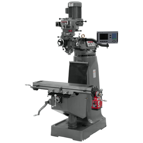 Jet 690168 JTM-1 Mill With ACU-RITE 200S DRO and X-Axis Powerfeed