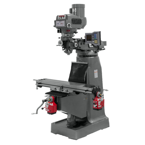 Jet 690197 JTM-4VS-1 Mill With X and Y-Axis Powerfeeds