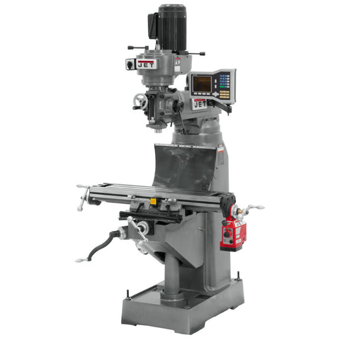 Jet 690198 JVM-836-1 Mill with ACU-RITE VUE DRO and X-Axis Powerfeed