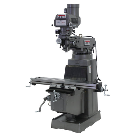 Jet 690214 JTM-1050 Mill With ACU-RITE 200S DRO With X and Y-Axis Powerfeeds