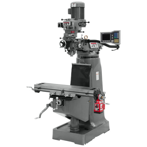 Jet 690286 JTM-2 Mill With ACU-RITE VUE DRO With X-Axis Powerfeed