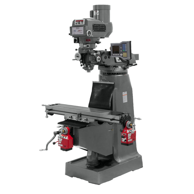Jet 690407 JTM-4VS-1 Mill With ACU-RITE VUE DRO and X and Y-Axis Powerfeeds