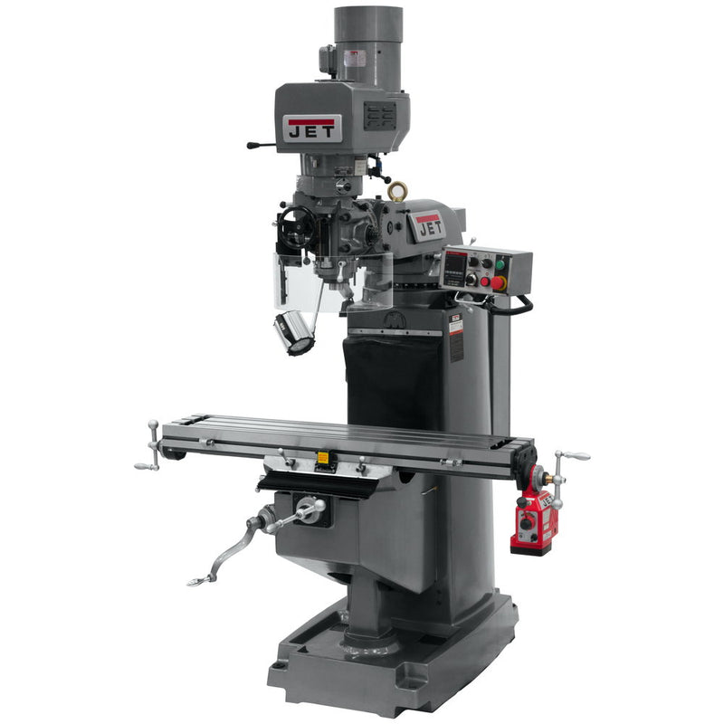 Jet 690501 JTM-949EVS/230 Mill With X-Axis Powerfeed