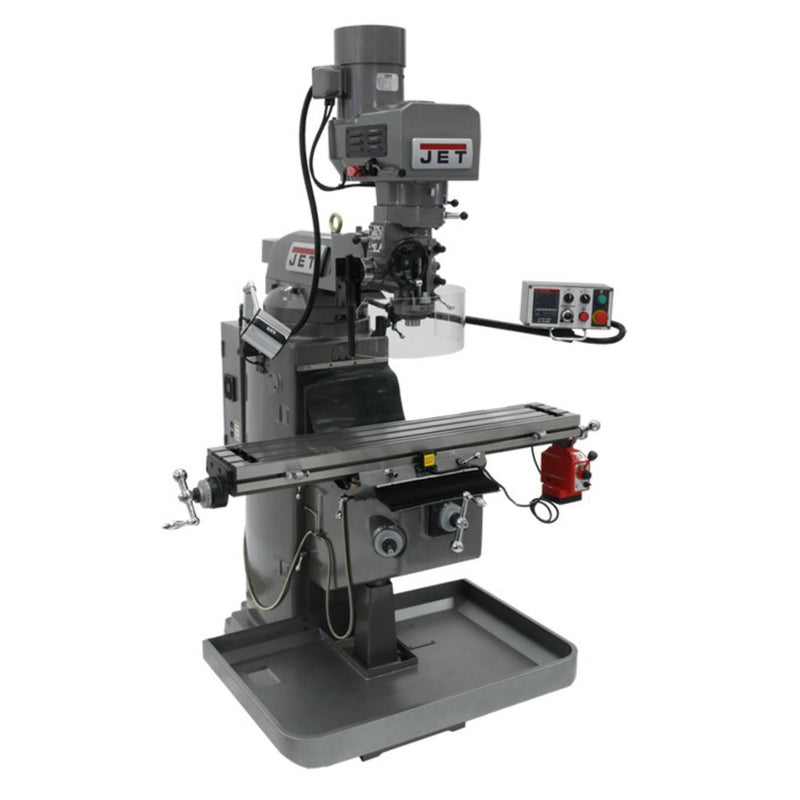 Jet 690506 JTM-949EVS Mill With Acu-Rite VUE DRO With X-Axis Powerfeed