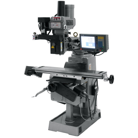 Jet 690948 JTM-4VS Mill With 3-Axis ACU-RITE G-2 MILLPWR CNC