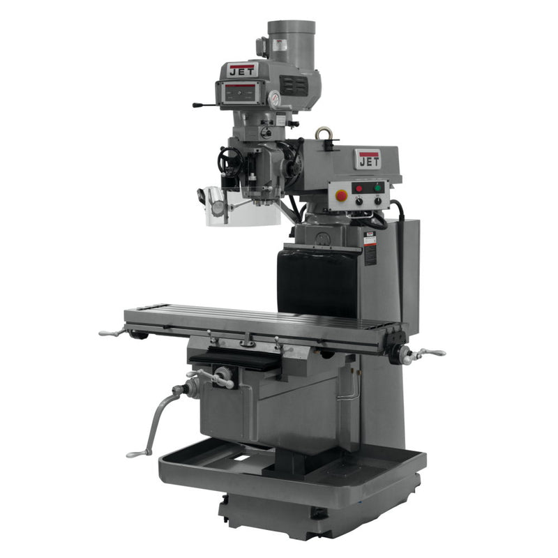 Jet 691942 JTM-1254VS with 3-Axis ACU-RITE G-2 MilPwr CNC with Drawbar