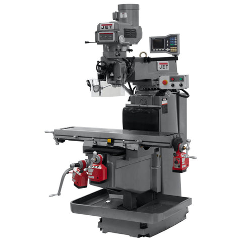 Jet 698041 JTM-1254VS Vertical Mill with VUE 3X-K, X/Y/Z Powerfeed