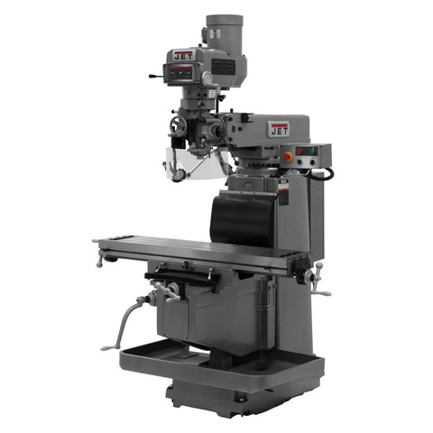Jet 698125 JTM-1254RVS Vertical Mill with 200S 3X-Q, X/Y/Z PFD, APDB