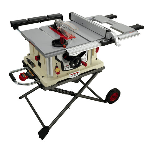 "Jet 707000 JBTS-10MJS, 10"" Jobsite Table Saw w/ Stand"