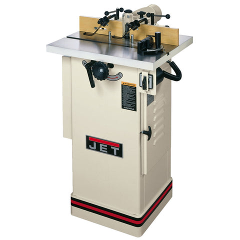 "Jet 708320 JWS-22CS, 1-1/2HP Shaper, 1Ph 115/230V, 1/2"" and 3/4"" Spindle"