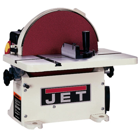 "Jet 708433 JDS-12B: 12"" Bench Disc Sander less DC"