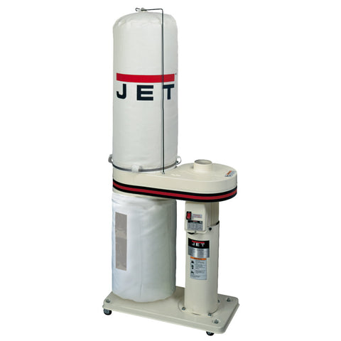 Jet 708642BK DC-650 1HP CFM Dust Collector with Bag Filters