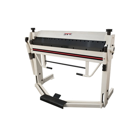 "Jet 752125 BPF-1240, 40"" x 12 Gauge Box & Pan Brake With Foot Clamp"