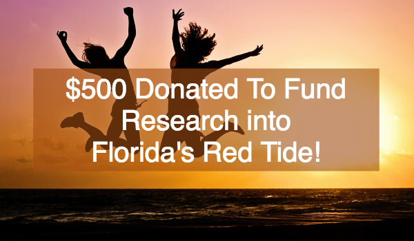 Donation to Research on Florida's Red Tide