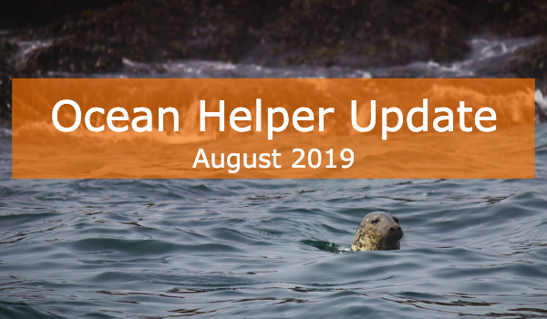 Ocean Helper Update - August 2019