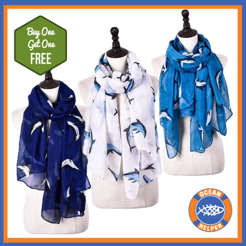 Buy One Get One Free - Dolphin Lover Scarf