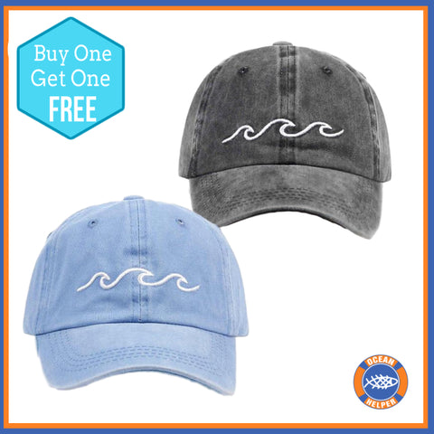 BOGOF Wave Baseball Caps