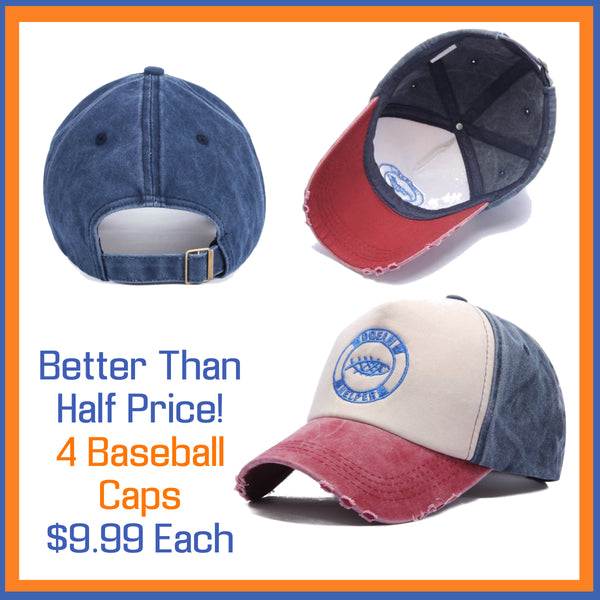 Better Than Half Price Baseball Caps