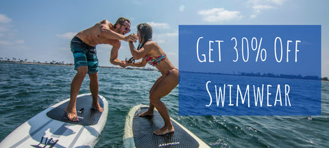 Save 30% on Swimwear