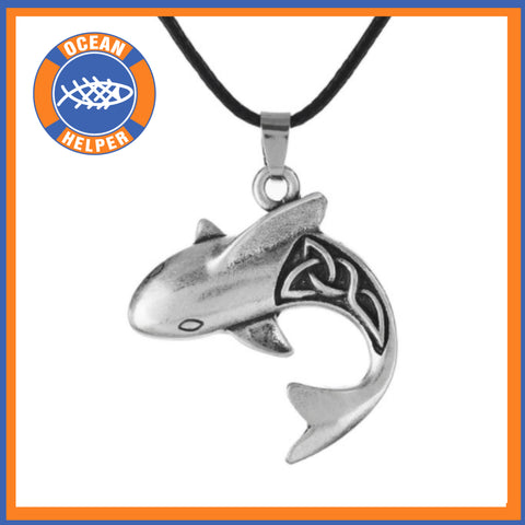 Celtic Shark Necklace