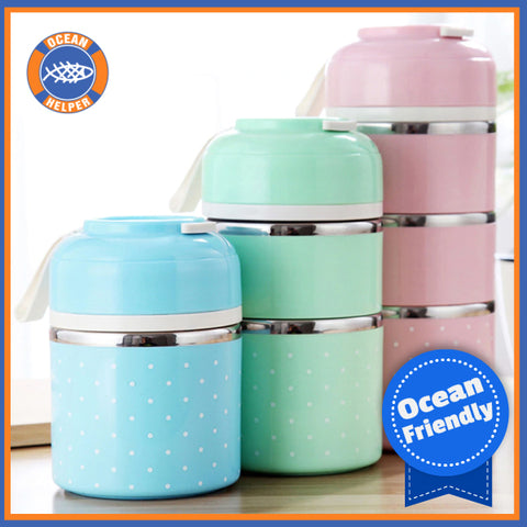 Eco Friendly Stainless Steel Lunchbox