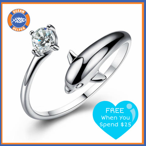 Free Porpoise Ring when you spend $25
