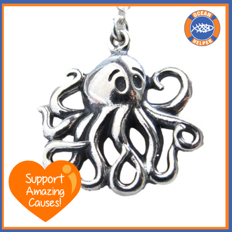 Friendly Octopus Necklace
