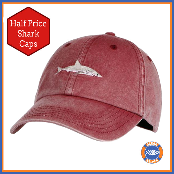 Shark Awareness Cap