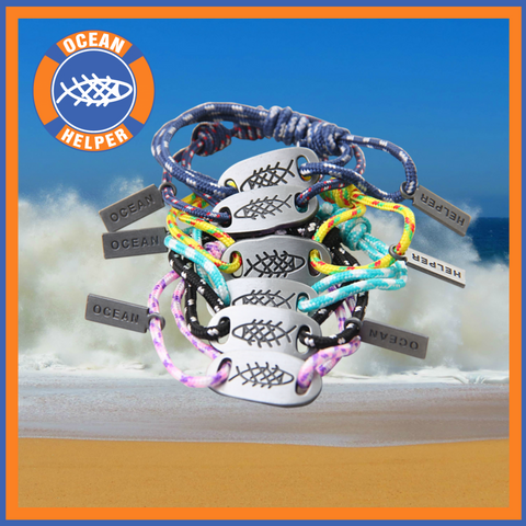 Ocean Helper Surf Bracelets - Free Offer!