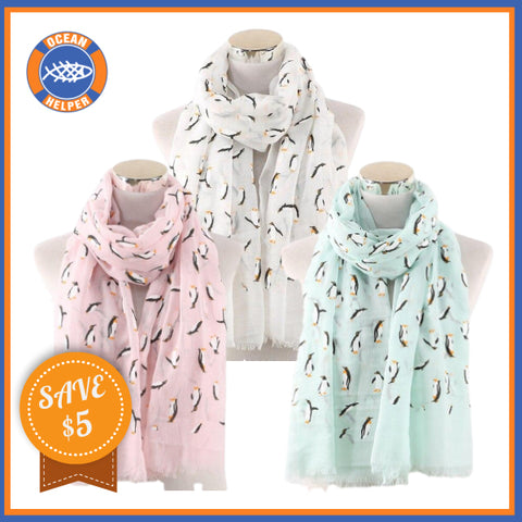Penguin Scarfs Save 5