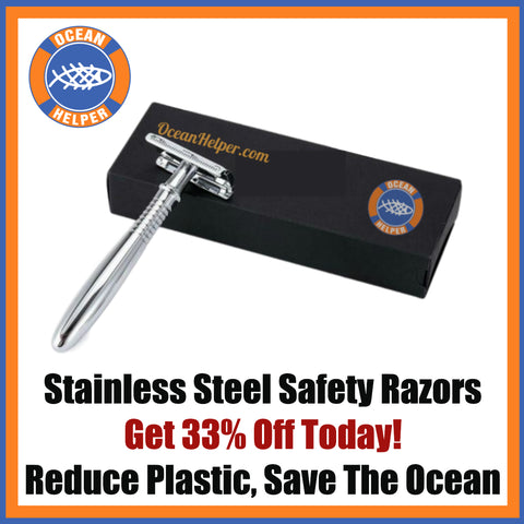 Ocean Helper Stainless Steel Safety Razor