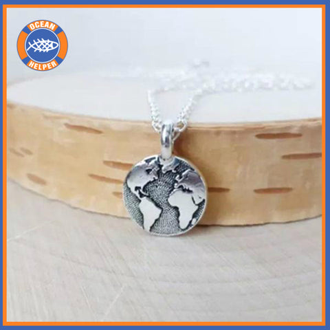 World Earth Day Necklace
