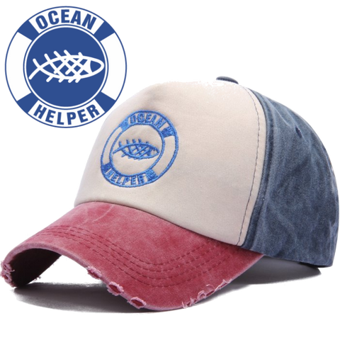 Ocean Helper Baseball Cap