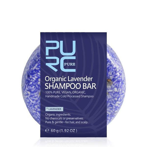 Natural Lavender Shampoo Bar - OceanHelper