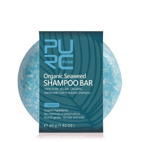 100% Natural Seaweed Shampoo Bar - OceanHelper