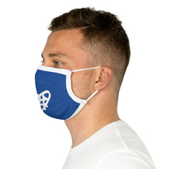 Ocean Helper Royal Blue Cotton Face Mask