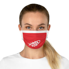 Ocean Helper Red Cotton Face Mask