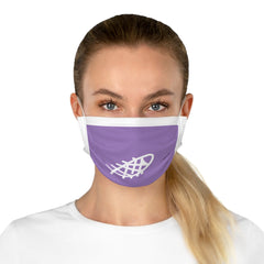 Ocean Helper Lilac Cotton Face Mask