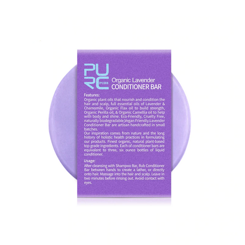Natural Lavender Conditioner Bar - OceanHelper
